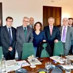 Jiménez Barrios participó en la reunión de las comisiones de trabajo previas a la celebración del VIII Consejo de Comunidades Andaluzas.