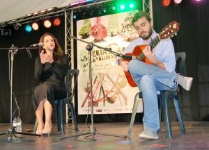 Alba Carmona y Jesús Guerrero