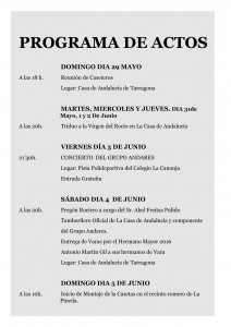 PROGRAMA romeria16-01