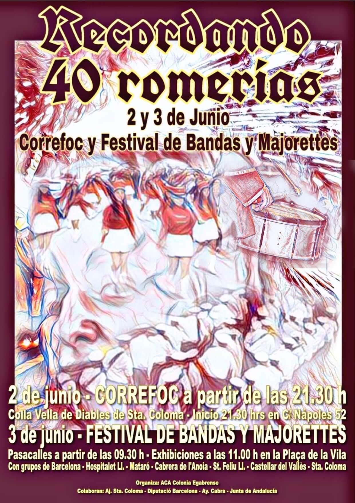 Cartel Recordando 40 Romerías (1)